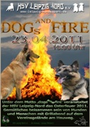 dogs and fire